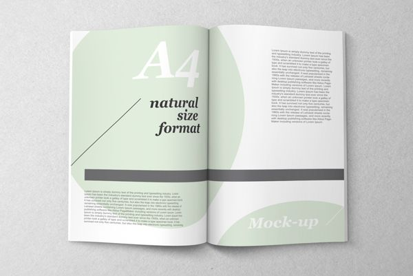 78+ images about Mockups on Pinterest | Magazine spreads, Behance ...