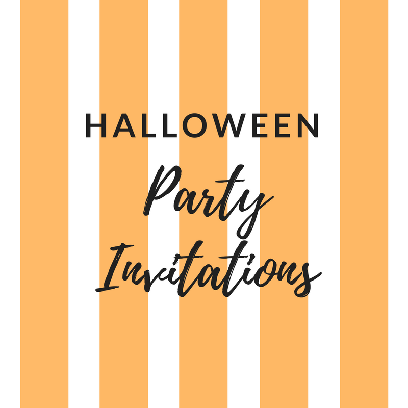Free Printable Halloween Party Invitations 2018 Template