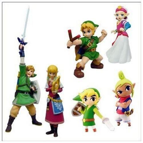 Legend of Zelda Skyward Sword Exclusive Figure Set of6