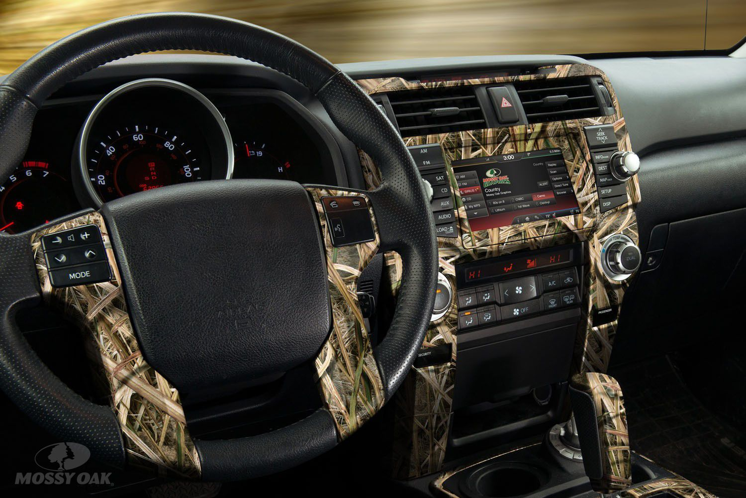 Accent the inside of your ride in mossy oak camo with this new auto interior skin vehicles for Aftermarket car interior parts