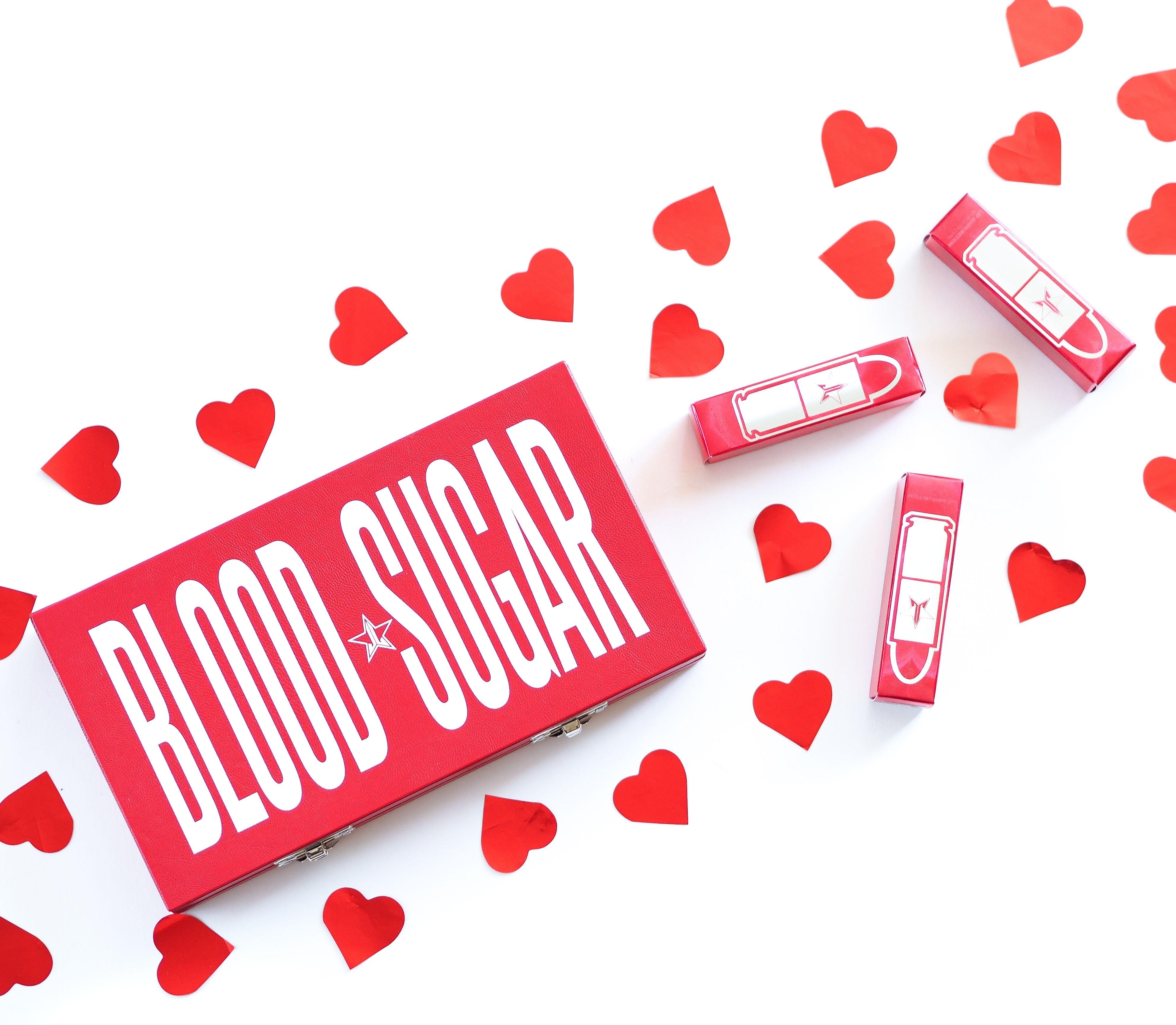 Jeffree Star Cosmetics Blood Sugar Palette Review