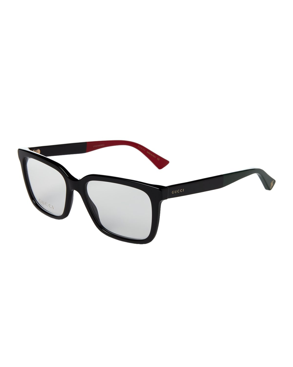6b63d42280a Gucci GG 0191OA Black Square Optical Frames