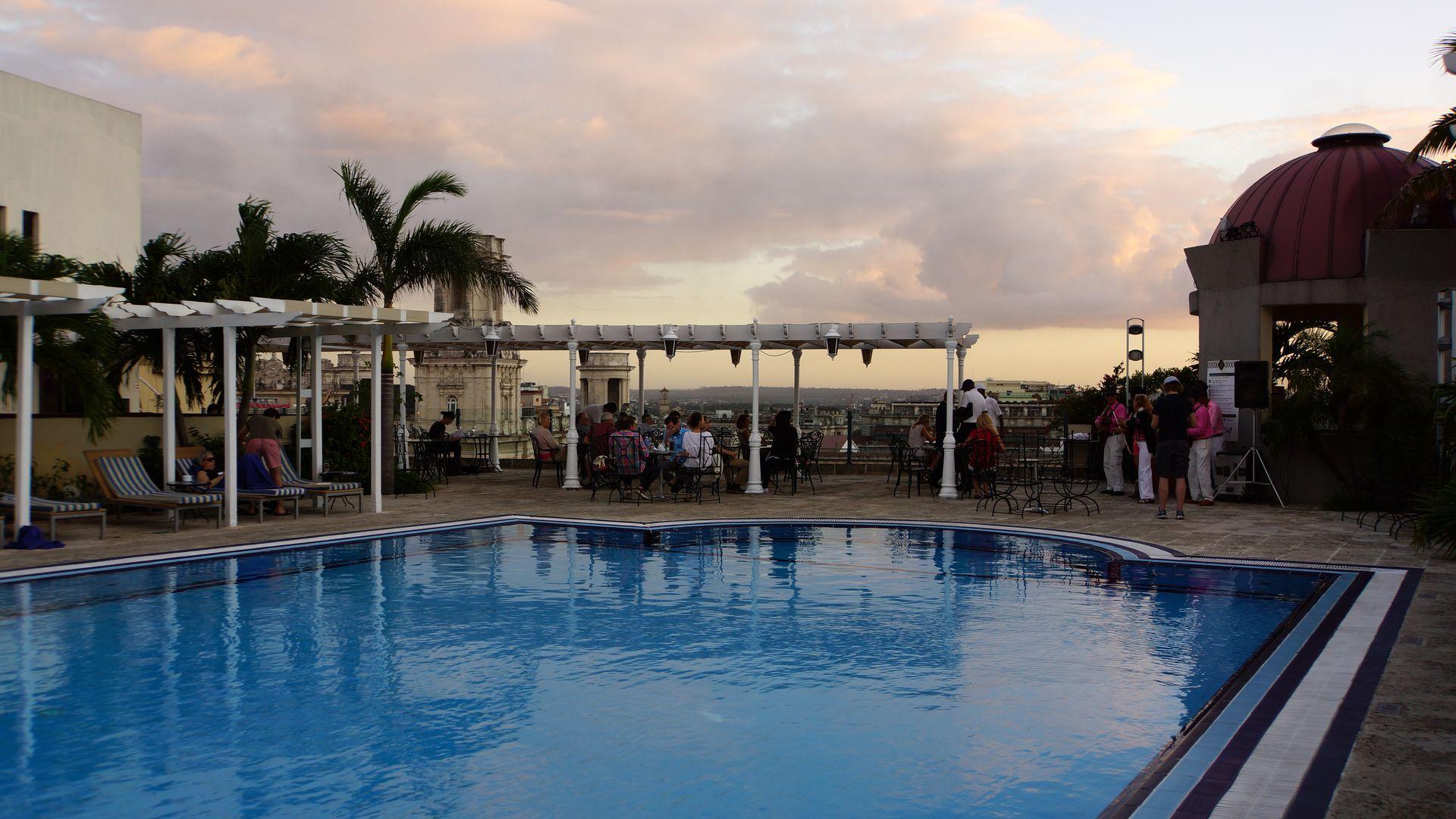 Top fav colored rooftop bars Havana