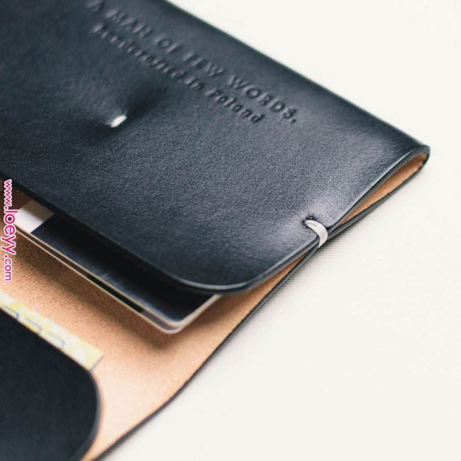 MENAGGIO wallet - details MASTERED! #leatherwallets
