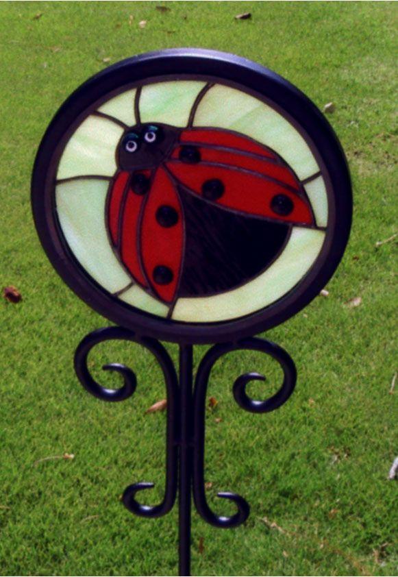 Image Result For Ladybug Garden Decor