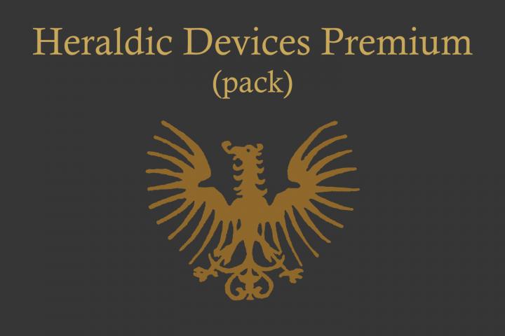 Download Heraldic Devices Premium (pack) | Fontbundles. | Best ...