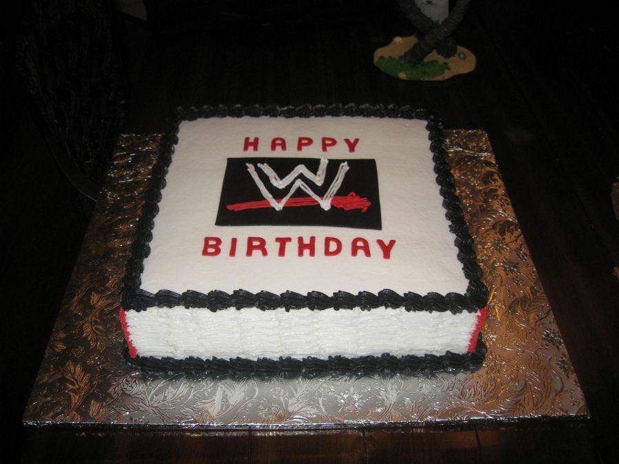 Wwe Raw Birthday Cake Wrestling Wwe Tips Wwe