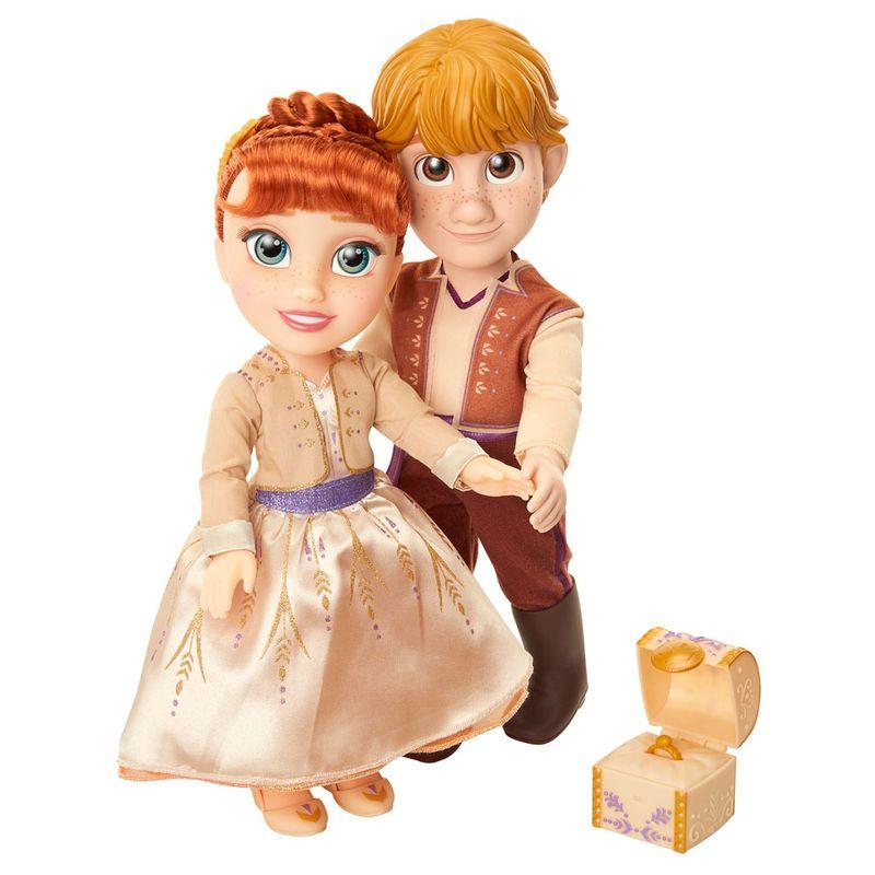 Set Muñecos Anna Y Kirstoff De Frozen 2 Disney Muñecas De Frozen Tiendas Disney Frozen Disney