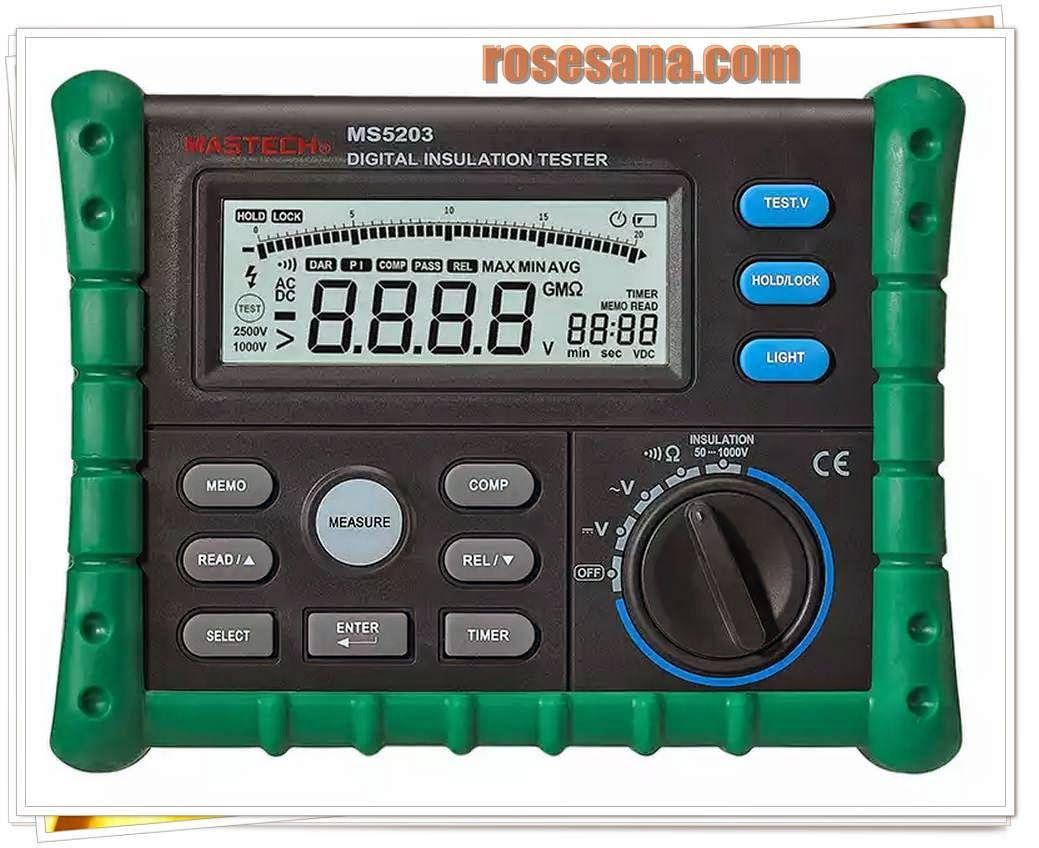 Ms5203 Digital Insulation Tester Medidores Aislamiento Electrico Aislamiento