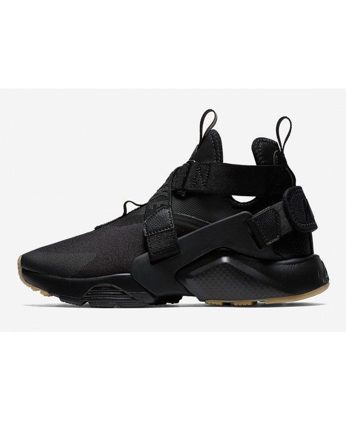 Nike Ville Huarache Gommier Noir Parcourir pas cher très à vendre vente Footaction jeu grand escompte vente ebay O5tuTQu30g
