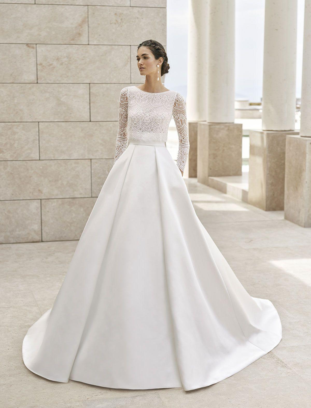 Abiti Da Sposa Rosa Clara.Rosa Clara Couture Una Collezione Di Abiti Importanti Da Nel 2020