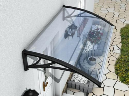 Front Door Canopy Outdoor Rain Cover Protection   Shelter Shade Porch Awning New