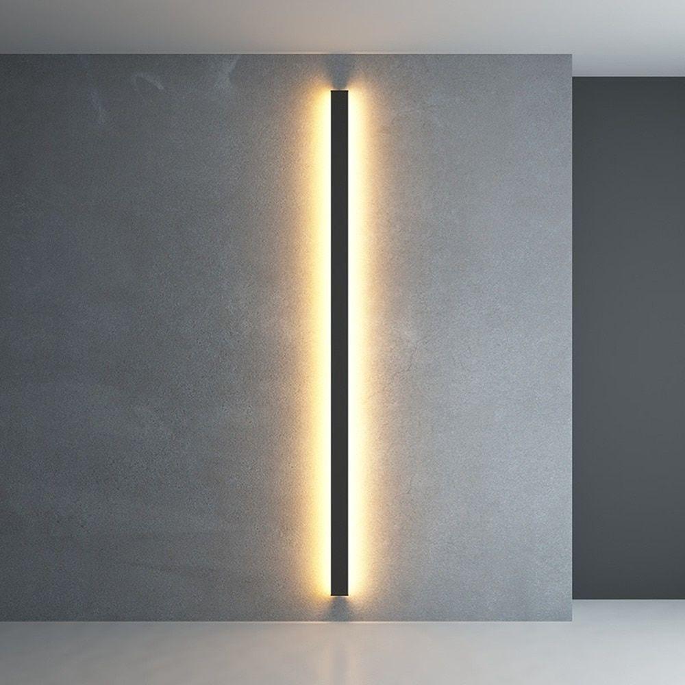 Minimalist Creative Long Wall Lamp Modern Simple Living Room