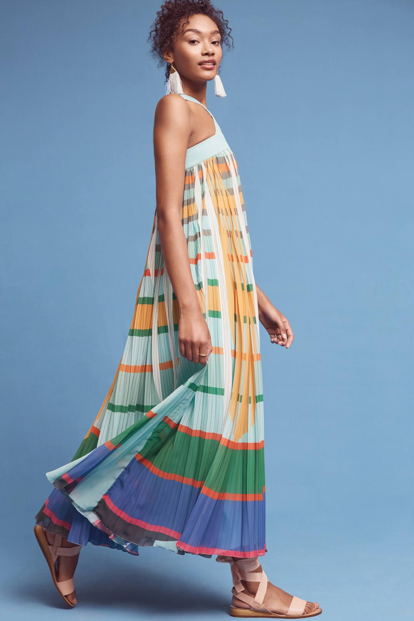 Abstraction Maxi Dress   Maxi dresses, Anthropologie and Fancy