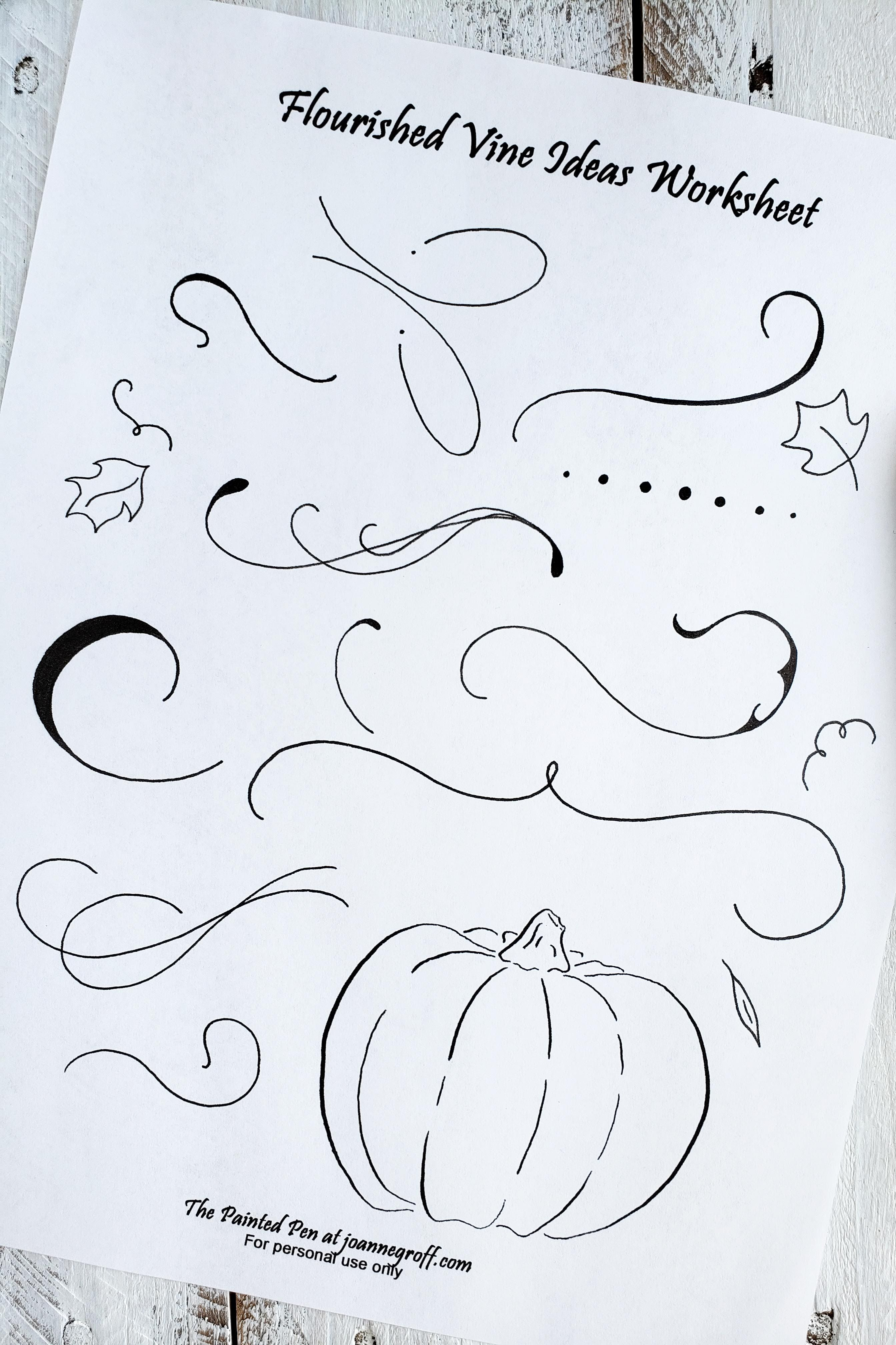 Use This Free Printable Pumpkin Drawing Worksheet To Add