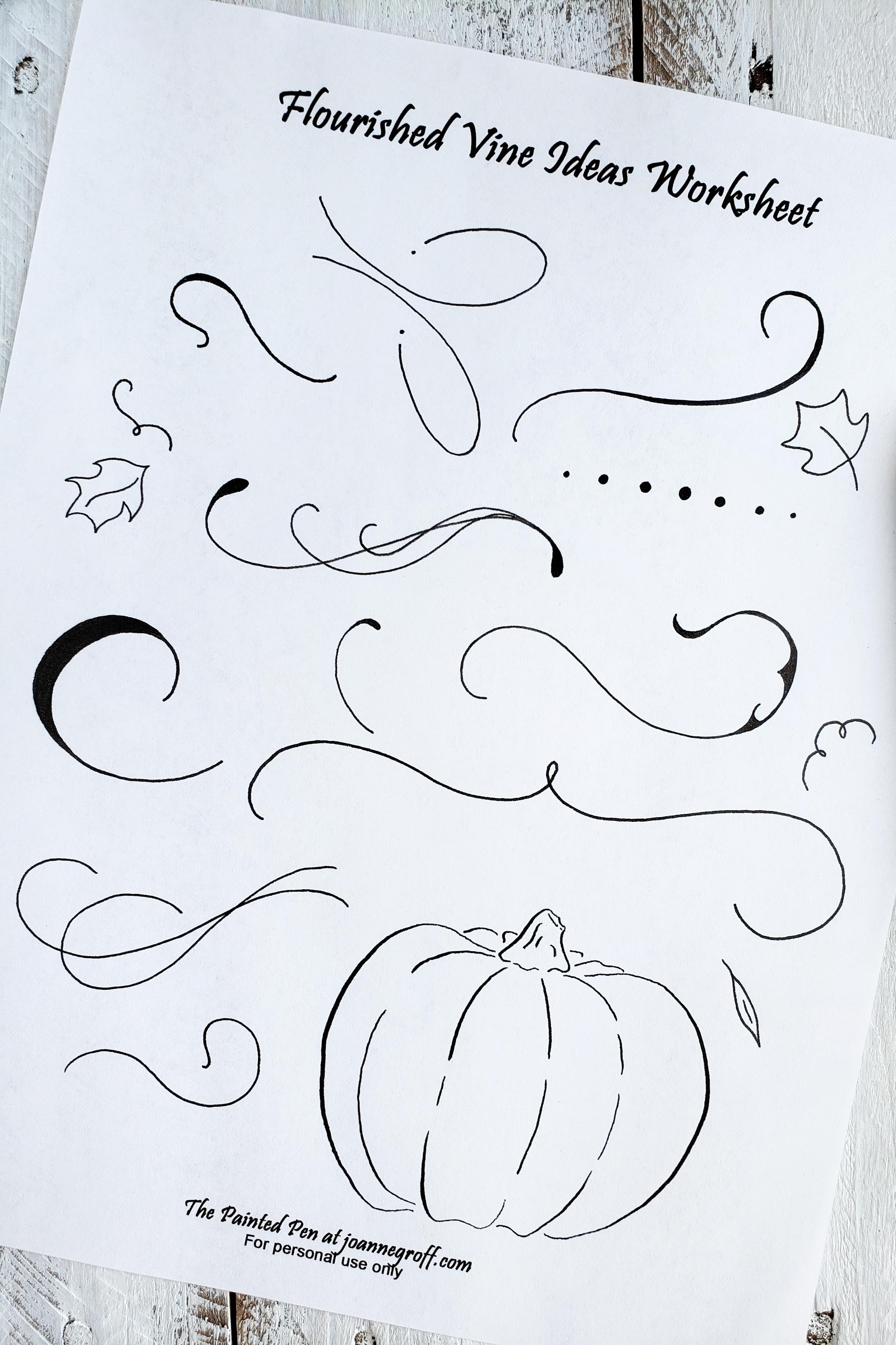 Use This Free Printable Pumpkin Drawing Worksheet To Add