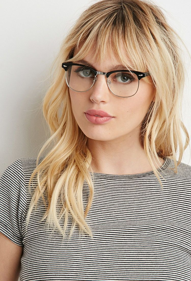 40 Beautiful Bangs On Women With Glasses Ideas Nona Gaya Hairstyles With Glasses Bangs And Glasses Celebrity Short Hair