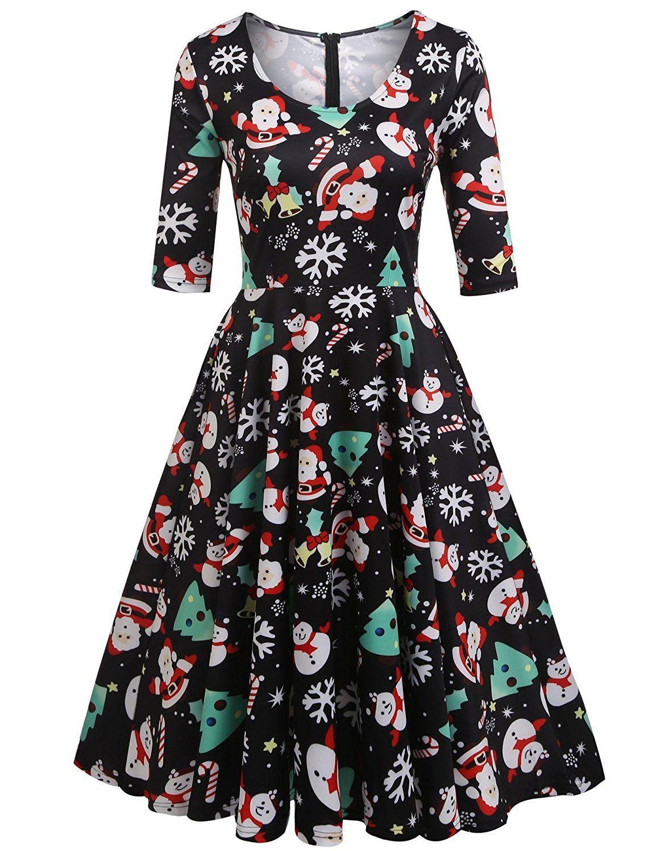 Christmas Dresses Womens.Pin On Vintage Inspired Fashion