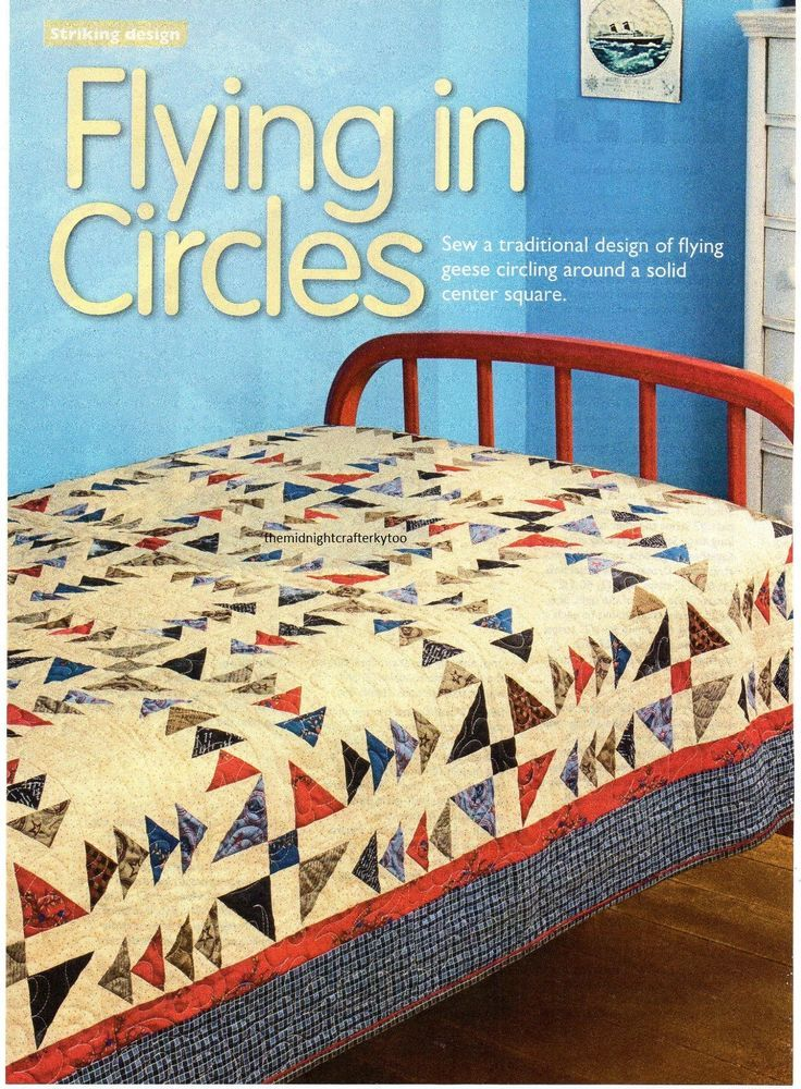 Flying In Circles Quilt Pattern Pieced JB | Patchwork Quilts ... : jb quilting - Adamdwight.com