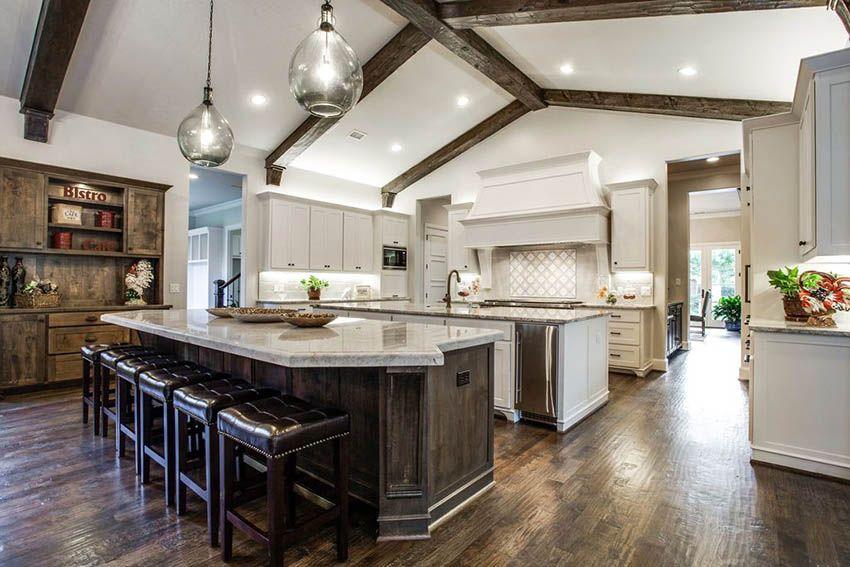 27 Amazing Double Island Kitchens Design Ideas Double Island Kitchen Open Floor Plan Kitchen Contemporary Kitchen Design