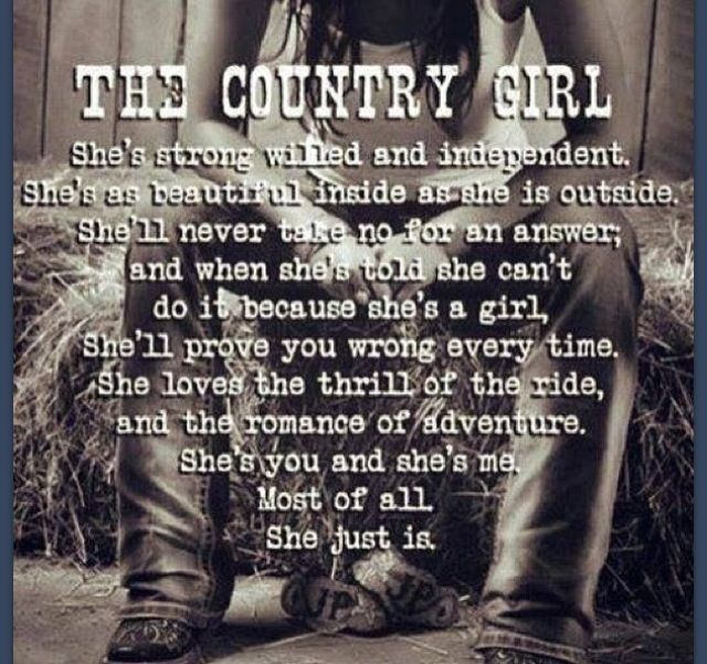 country girl quotes | Country Girl #quote #country | horses qoutes