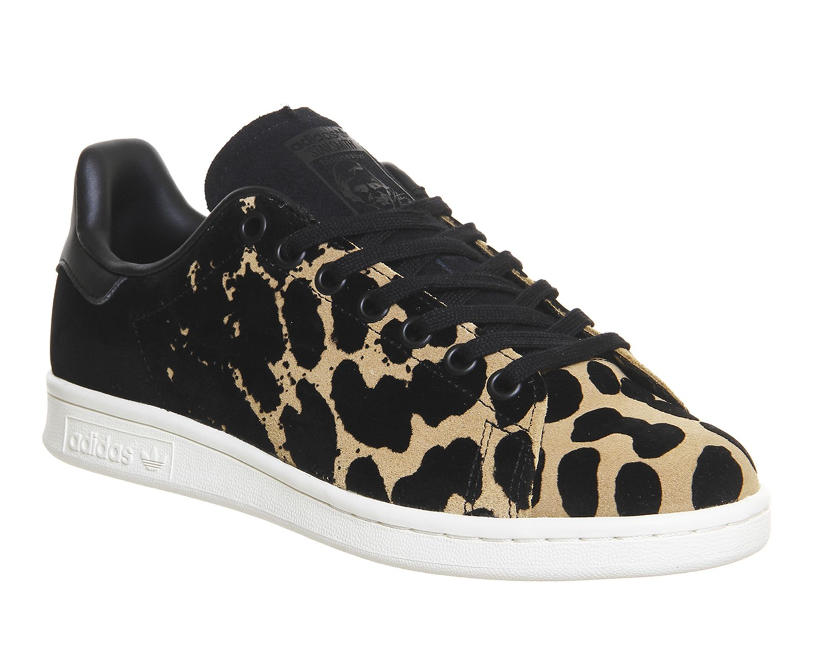 Adidas Stan Smith Black Leopard - Unisex Sports. Shoes ...