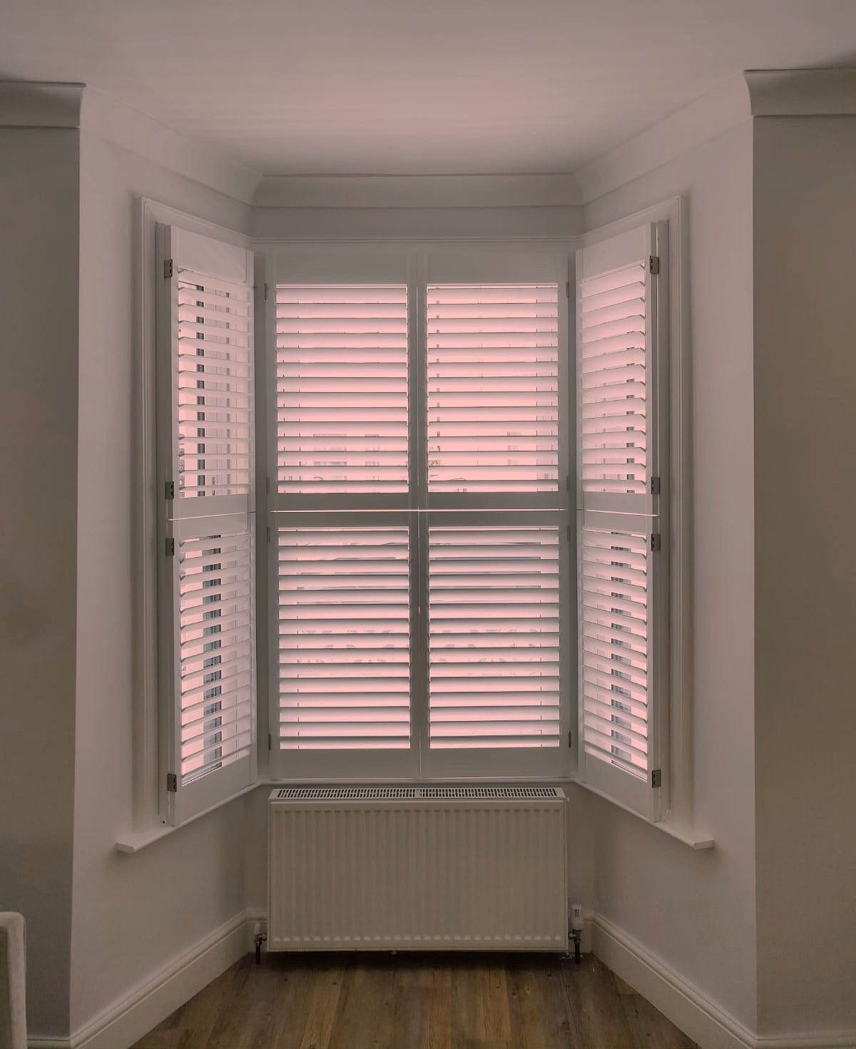 Window Coverings To Keep Heat Out Keep Cool Behind Closed Shutters Bay Window Home
