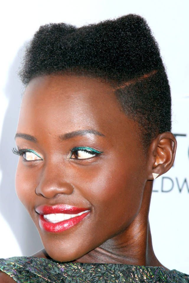 The makeup mastermind behind Lupita Nyongo's signature bright eyeliner shares 10 easy liner looks you can create at home.