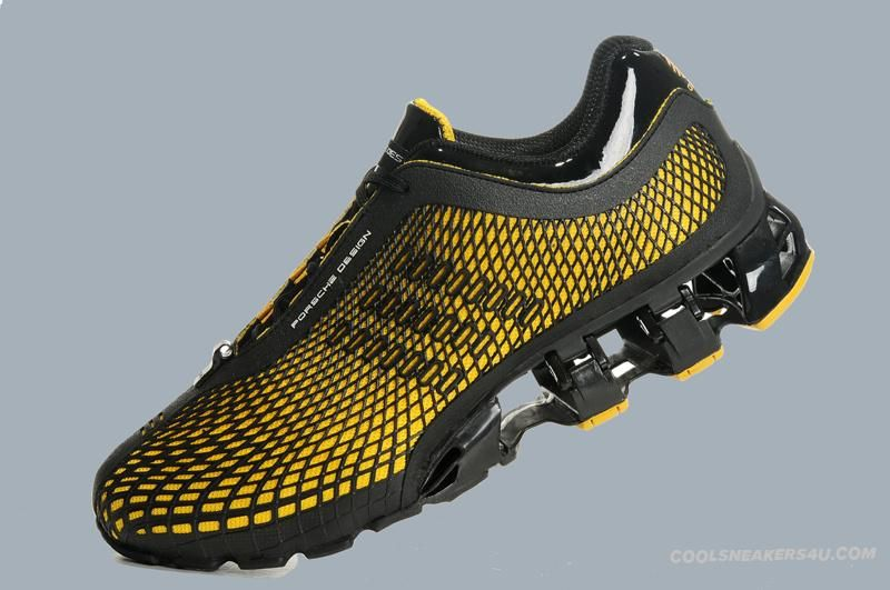 Adidas Porsche Design Original Running Shoes Mens BOUNCE S2 Black Or Yellow  New