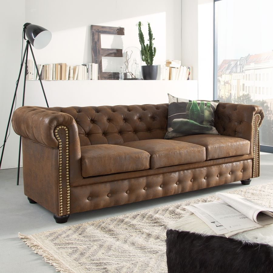 Leren Klassieke Bank.Bank Torquay 3 Zitsbank In 2019 Couch Sofa Meubelzaken