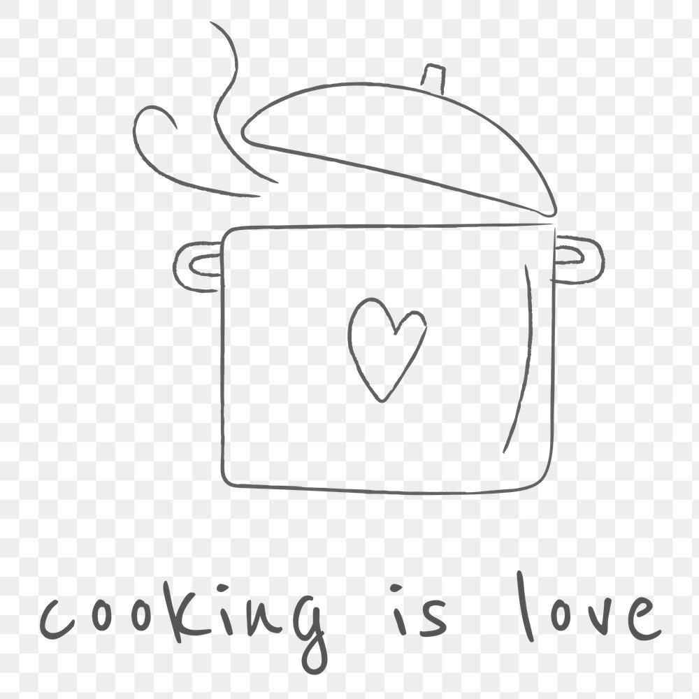 15+ Cooking Pot Clipart Black And White