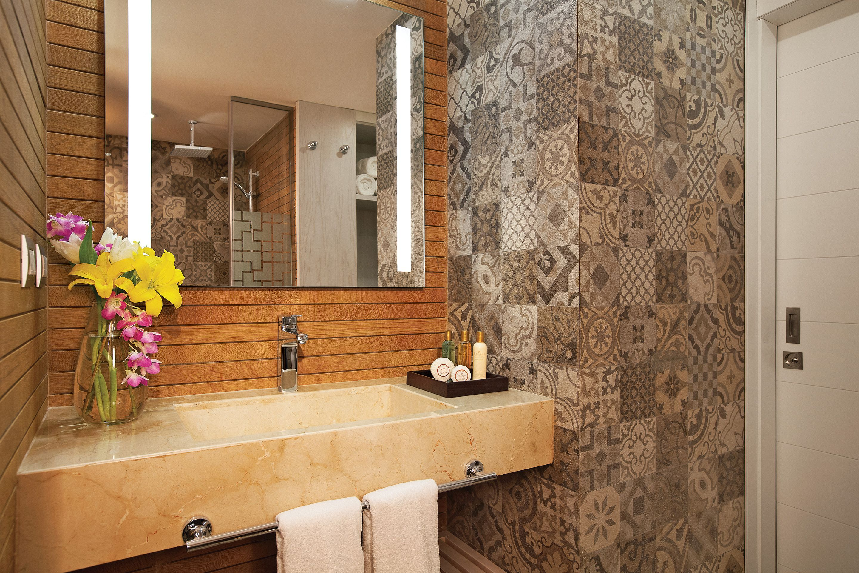 Check Out The Vanity For All Of Our Premium Deluxe Rooms