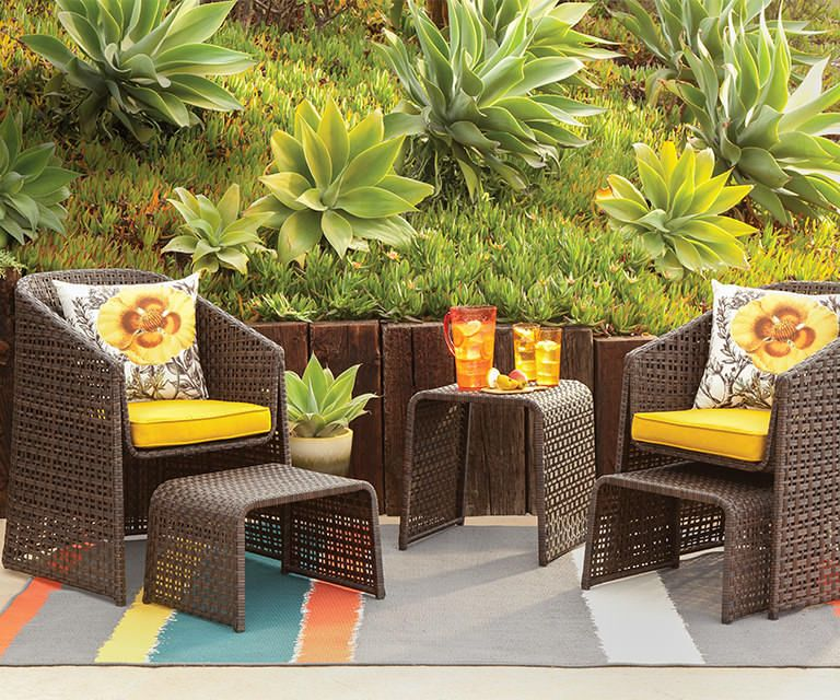 Small space patio solution Outdoor furniture sets, Patio