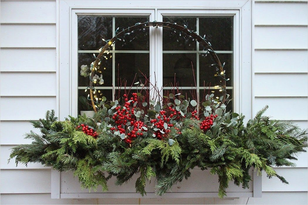 Christmas Window Boxes Homeandcraft Christmas Window Decorations Winter Window Boxes Christmas Window Boxes