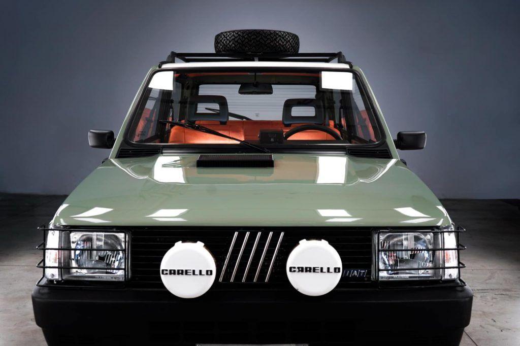 Garage Italia Customs Electrifies Classic Fiat Panda 4x4 Gives It New Looks Too Carscoops In 2020 Fiat Panda Fiat 4x4