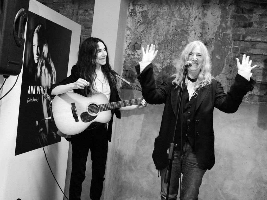 PJ Harvey and Patti Smith  www.burninggirl.biz