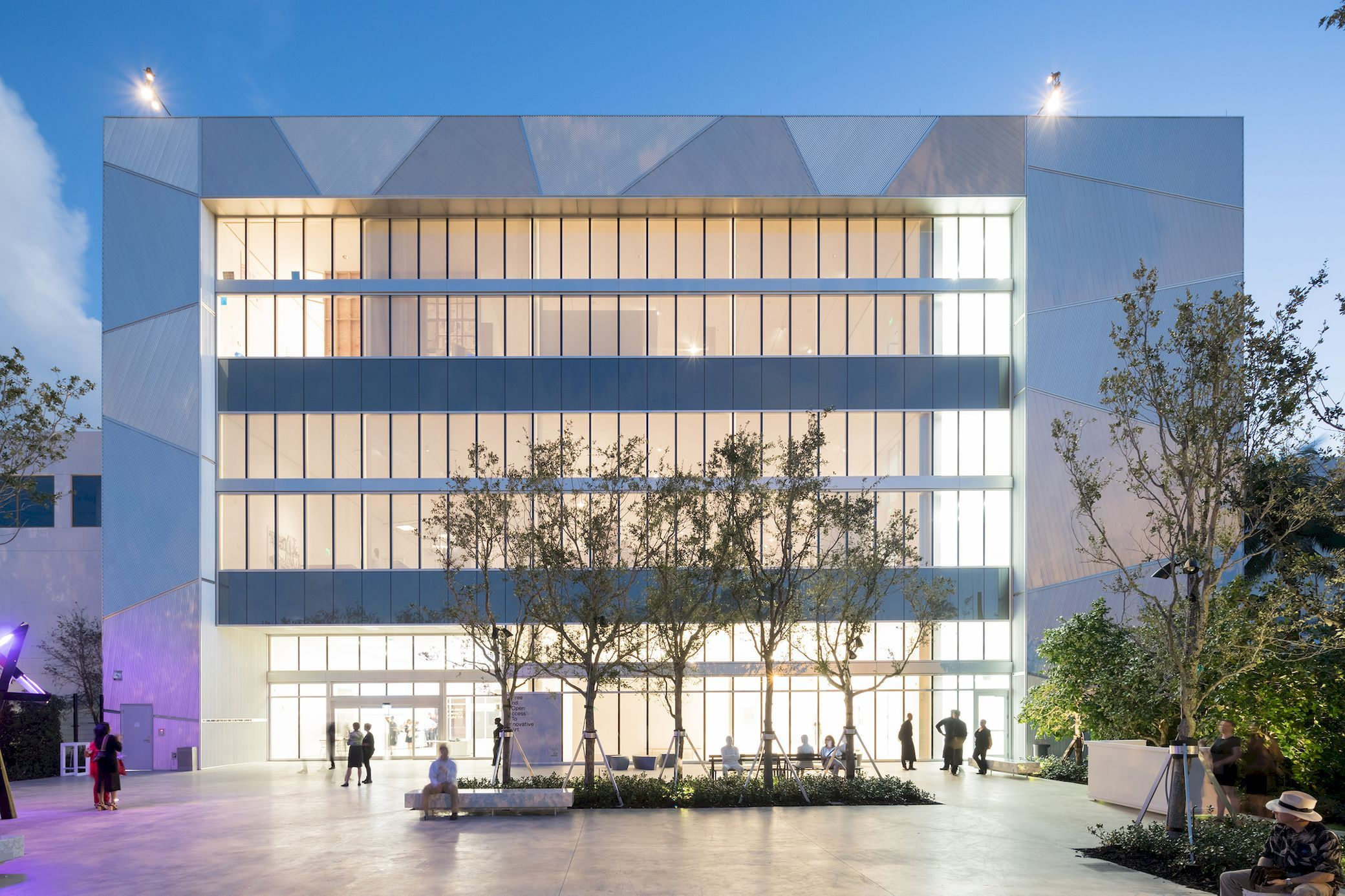 Ica Miami Museum Facade Architecture Architecture Details Building