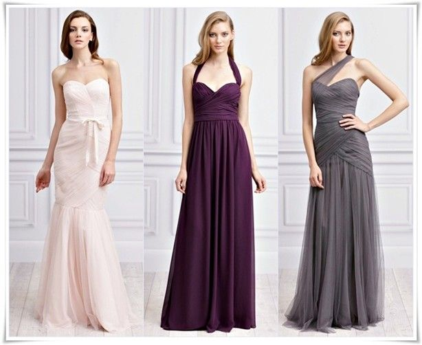 Image detail for -Monique Lhuillier Bridesmaids Spring 2012 and 2013 Collection Photo ...