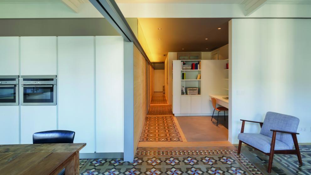 SANTOS kitchen | Cocina abierta al salón diseño Line-E de Santos en ...