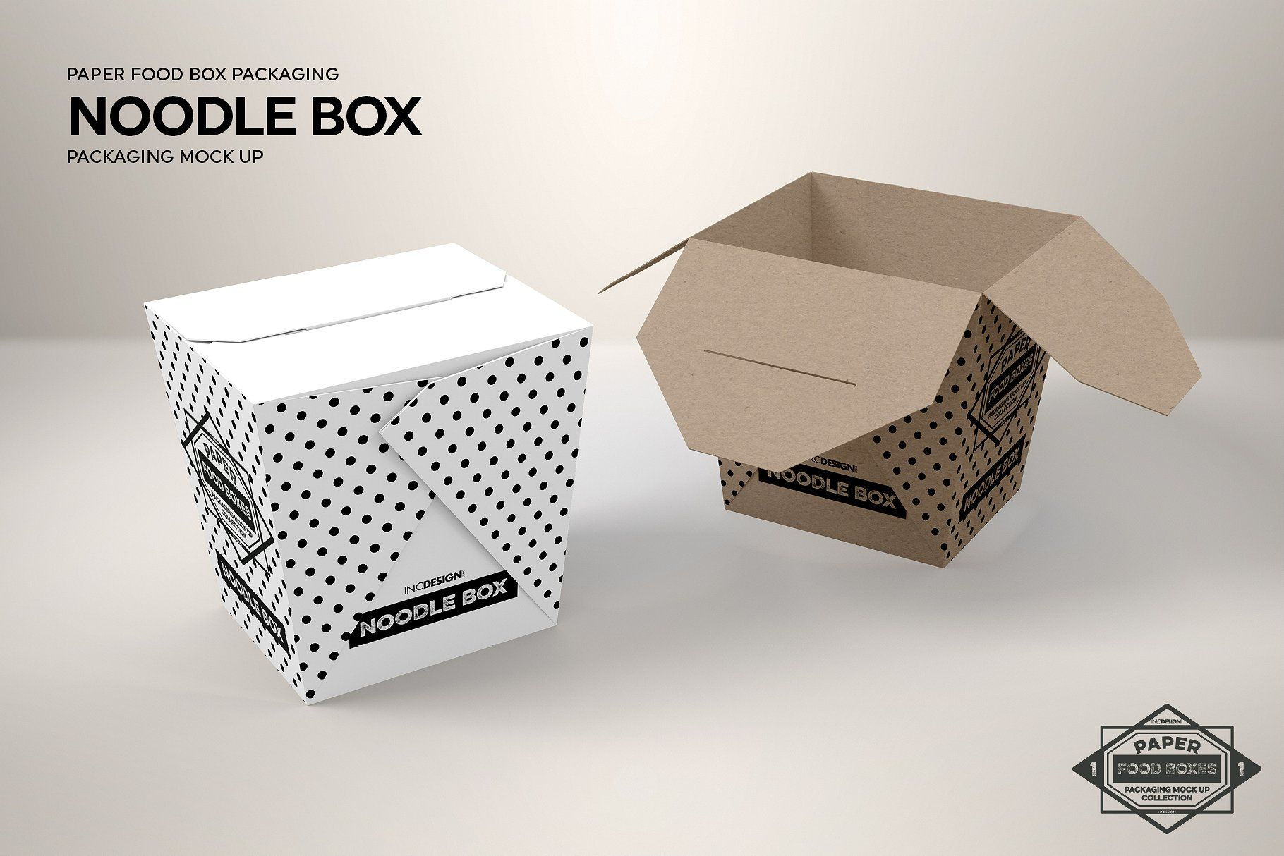Download Noodle Box Packaging Mockup Packaging Mockup Food Box Packaging Box Packaging