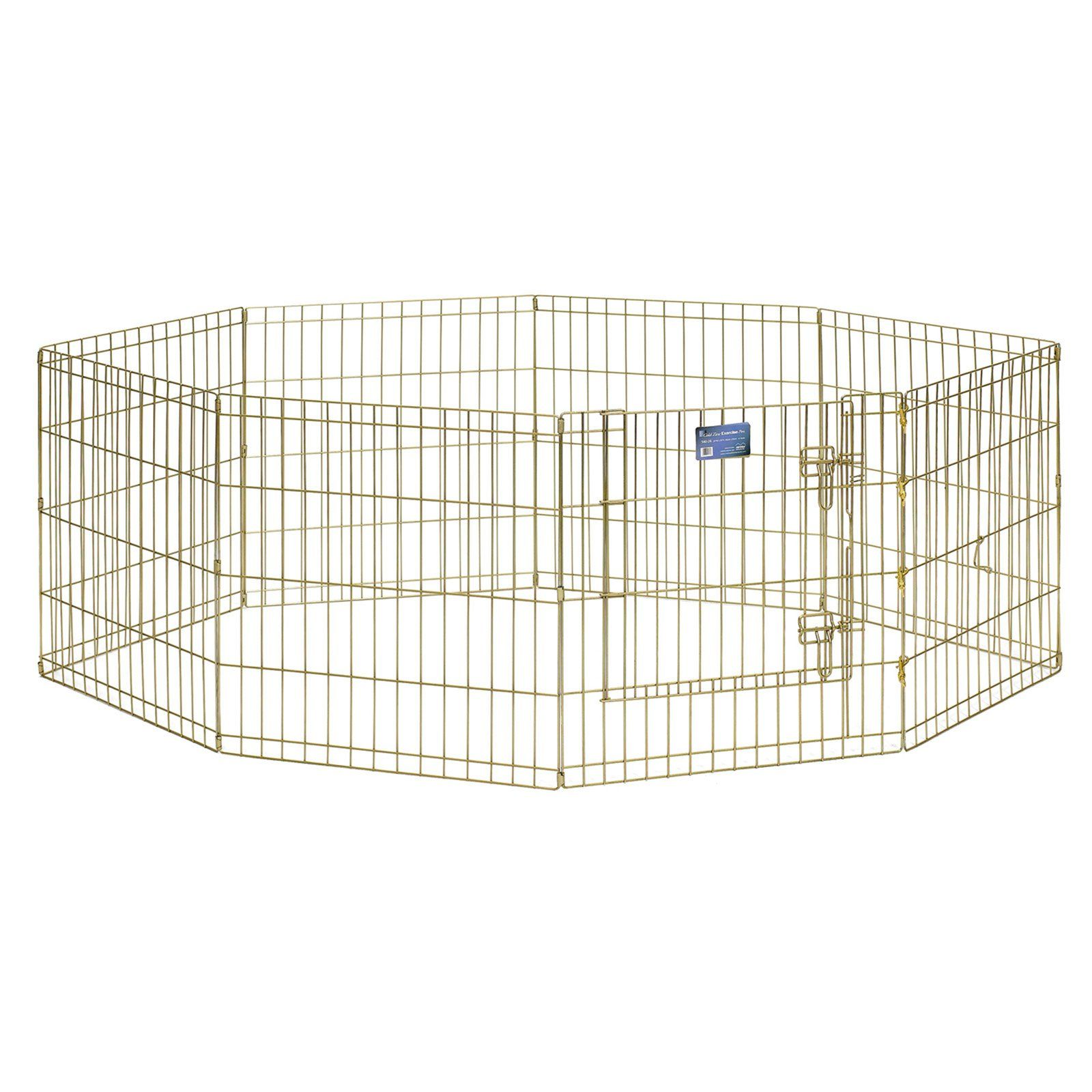 Midwest Homes For Pets 8 Panel Exercise Pen Pet Playpen With