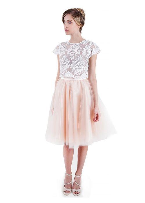 Nude Fairytale Tulle Skirt (1)