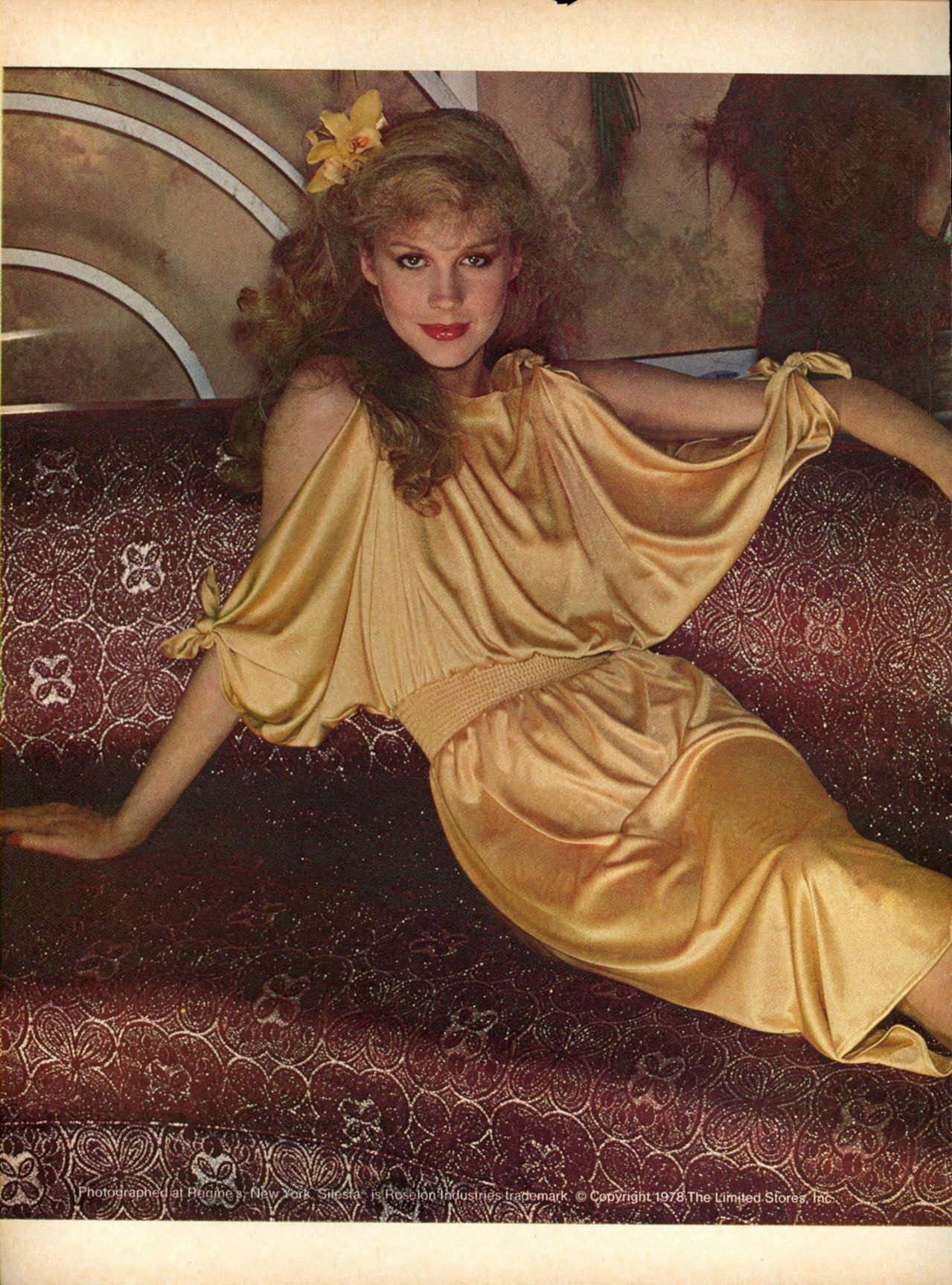 1978 The Limited Rosie Vela Regine S New York Print Ad Advertisement Vintage