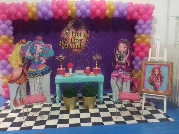 Tema de Festa Ever After High  Decorativa Festas  Decoração de Festa Infant