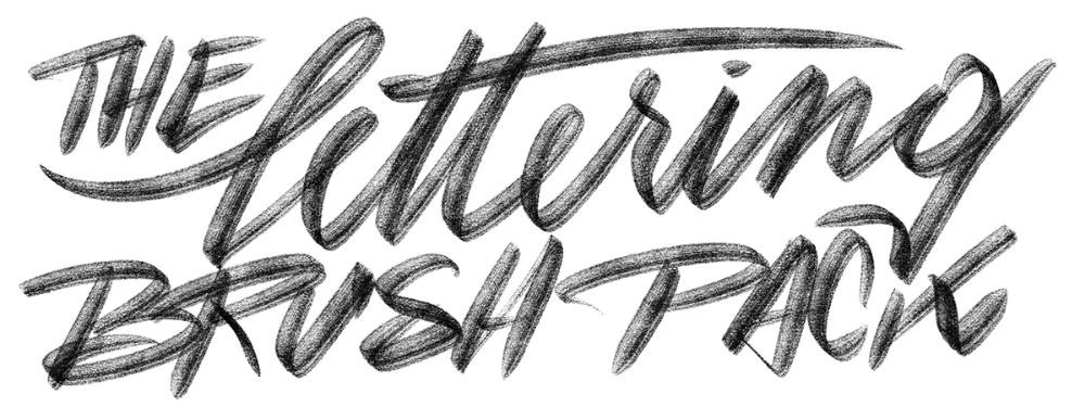 Download Lettering Brush Pack - Typeverything | Lettering ...