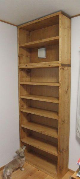 簡単diy おしゃれな手作り本棚集 絵本棚 自作 ブログ イケア ニトリ ハンドメイド 賃貸 作り方 Wood Shelves Shelves Old Window Projects