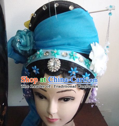 a81e48701 Theatrical Performances Chinese Meng Jiang Nv Hairstyles Fascinators  Fascinator Wholesale Jewelry Hair Pieces and Wigs