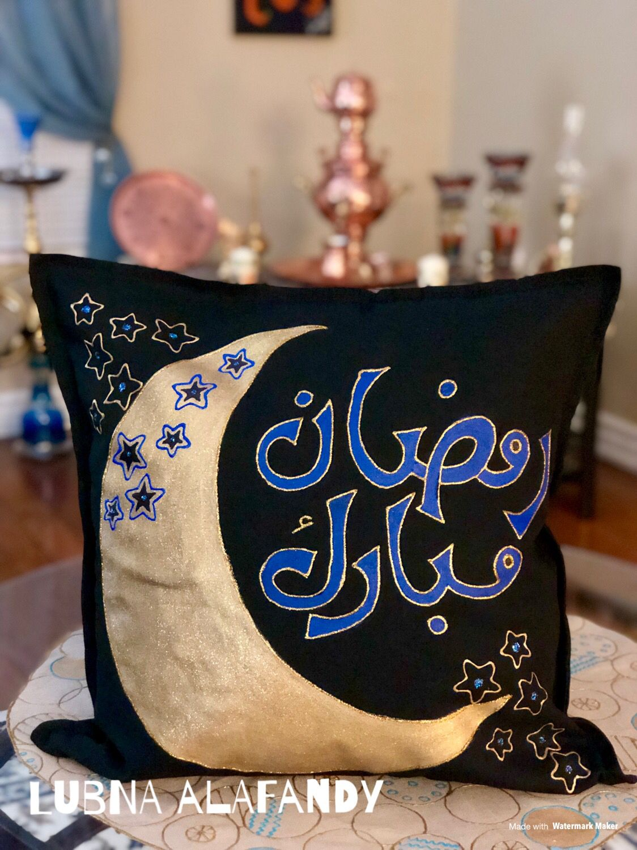 Pillow وسائد كنب كوشات Ramadan Crafts Eid Decoration Ramadan Decorations