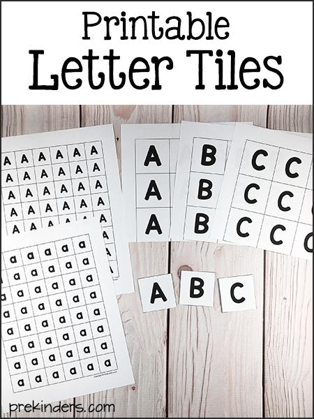 image relating to Printable Letter Tiles identify Alphabet Printables PRE-K Preschool letters, Printable