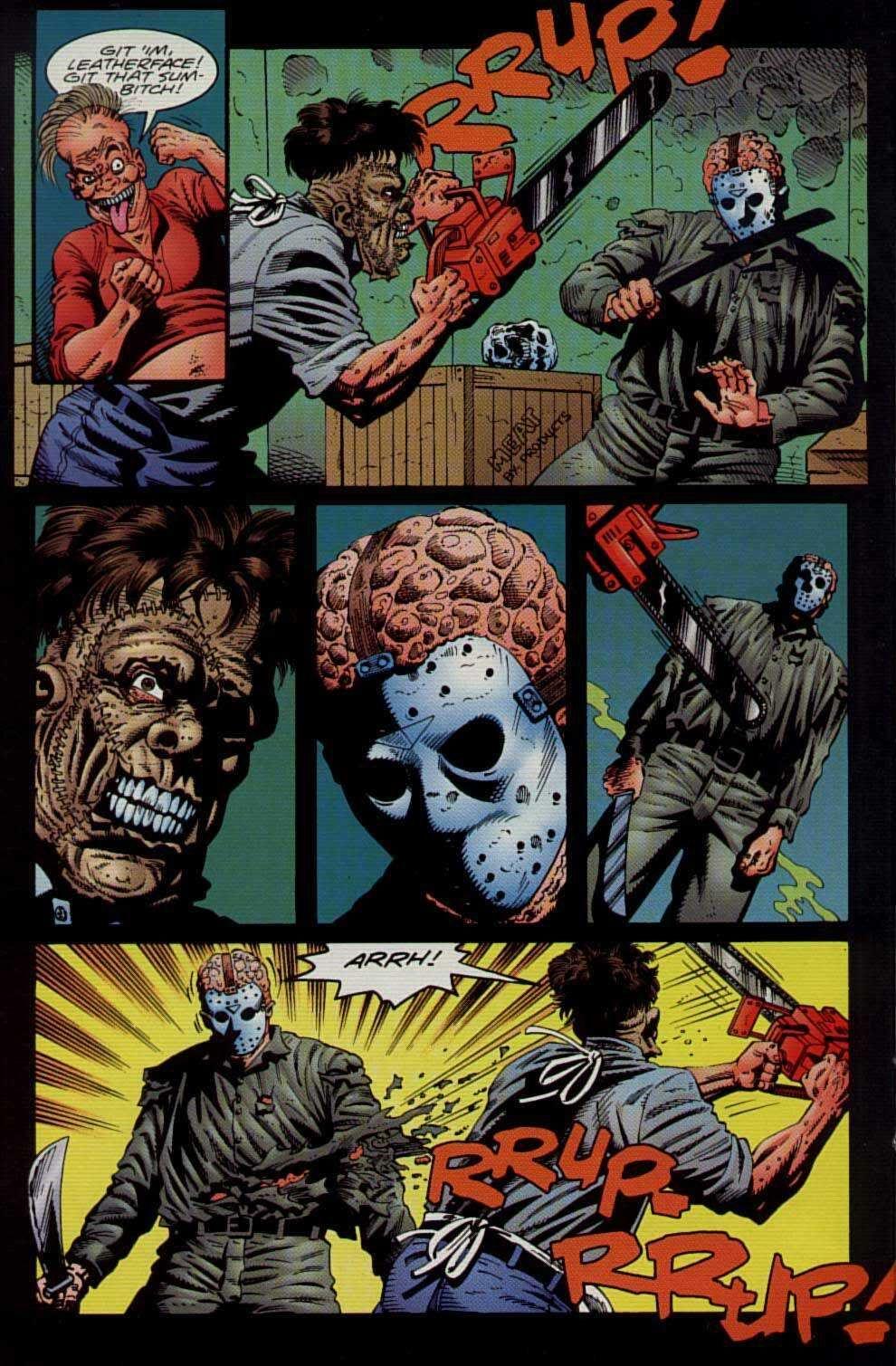 Leatherface vs. Jason